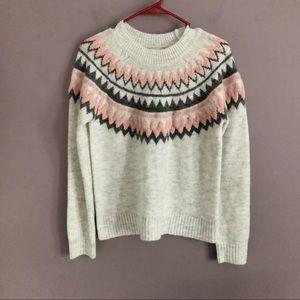 Silverflint Light Gray Crewneck Sweater NWT